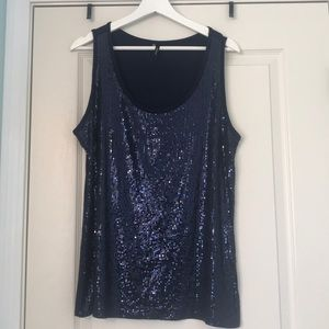 Maurice's Sequined Tank